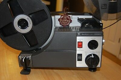Super 8, Regular 8, Dual 8 Movie Projector Commercial-Grade, BEST OF BEST !!!