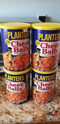Planters Cheez Balls (2018 NEW) IN STOCK FOUR CANS WOW Get It Before It's Gone!