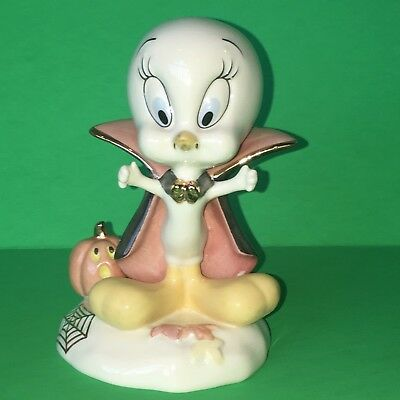 Lenox Looney Tunes Warren Bros Spooky Tweety Figurine Happy Halloween! Retired