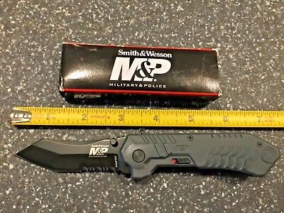 Smith & Wesson M&P SWMP2BS M.A.G.I.C. Assisted w/Serrated Modified Tanto Knife