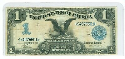 1899 $1 Fr 226 *Date Above* Black Eagle Silver Certificate FIRST ONES PRINTED!!!