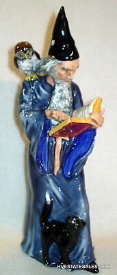"""VINTAGE ROYAL DOULTON FIGURINE """"THE WIZARD"""" HN 2877 dated 1978"""