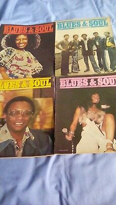 blues and soul magazine x4 1975. Nos.172, 173 , 174 & 175.