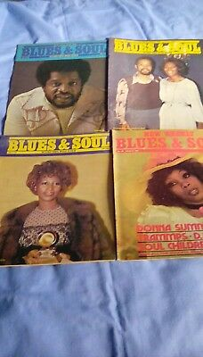 blues and soul magazine x4. From 1976. No's. 176, 177 , 178 & 180.