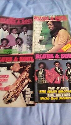blues and soul magazine x4 1976 issues No's. 183, 191 ,192  & 196.