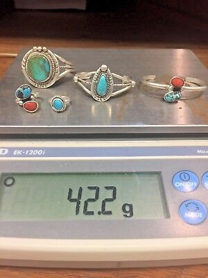 Southwestern/Native and Old Pawn Sellable Sterling Silver Lot Children's Jewelry
