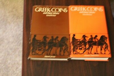 Greek Coins and their values volume 1 and 2 David R. Sear