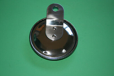 Classic Triumph Bsa Norton Honda Stainless Steel Licence Plate Tax Disc Holder