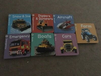 Bundle Of Small Transport Themed Board Books