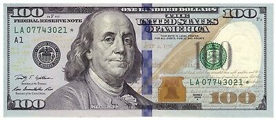 """""""STAR"""" USA - 100 Dollars 2009A (Boston) - Federal Reserve Note - UNC"""