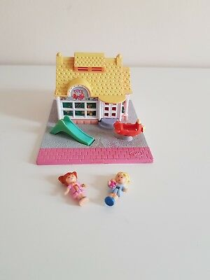 Vintage Polly Pocket Toy Shop 1993 100% complete with the 2 figures