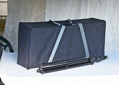 Flash carry case (Bowens) For 2 heads and stands.