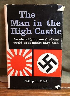 THE MAN IN THE HIGH CASTLE, Philip K. Dick, 1ST EDITION, 1962, HBDJ, (D36)