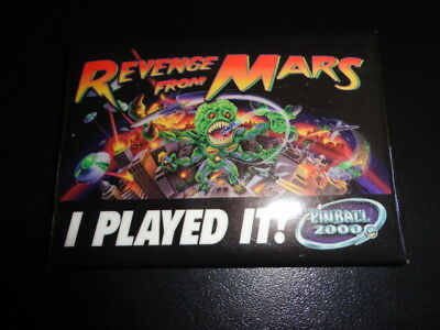 Bally Revenge from Mars Pinball 2000 pin