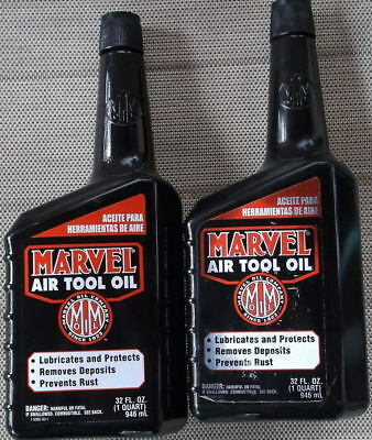 Marvel Air Tool Oil    2 Bottles -  32 Oz Each