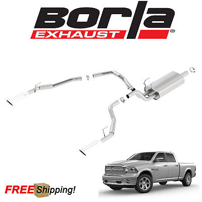 BORLA S-TYPE CAT-BACK Performance Exhaust Kit Fits 2009-2018