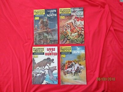 Vintage Classics Illustrated--Lot of 4-No. 155, 156, 157, 158