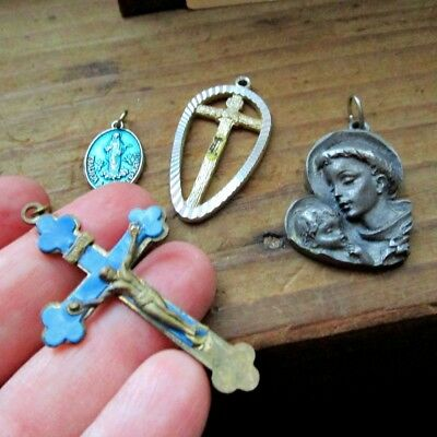 Lot of Vintage Religious Charms or Pendants -  AS IS