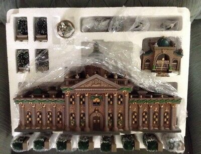 Dept 56 1996 Dickens Village Rumsford Palace 17 Pc Numbered Vtg Damaged Box Mint