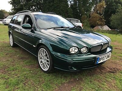 2007 07 Jaguar X-Type Sovereign Diesel Estate Sat Nav Leather Lovely Car Fsh