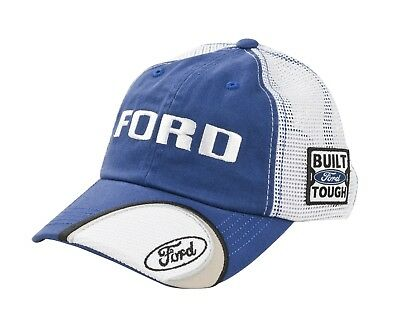 2b4088771dc FORD Built Ford Tough CFS Mesh Trucker Adjustable Slouch Hat   Cap (NWT)