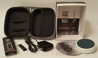 No!No! Hair Pro 5 Hair Removal System With Charger Case & New Blades Full Kit
