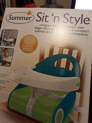 Summer Infant SIT 'N STYLE Compact Folding Booster Seat Baby/Child Feeding BN