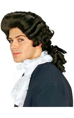 Colonial Man Wig School Project Wig Colonial Costume Wig Founding Fathers 50797