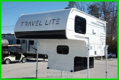 2018 Travel Lite Super Lite 625SL Slide in Truck Camper 1/2 Ton Short Bed New RV