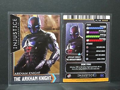 Injustice Arcade Mystery ? Card #91 Arkham Knight - Dave and Busters D&B