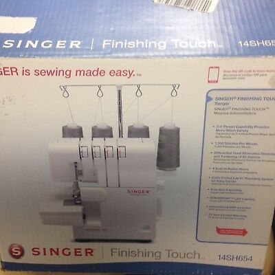 SINGER 40SH40 FINISHING Touch Serger 4040 PicClick New Singer 14sh654 Finishing Touch Serger Sewing Machine