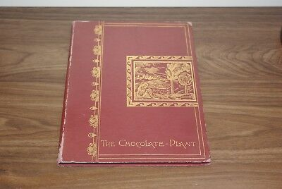 1891 Walter Baker & Co The Chocolate Plant Book Dorchester, MASS 1st ed