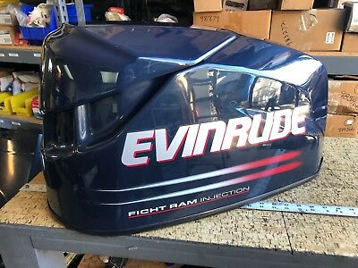 JOHNSON EVINRUDE OMC Outboard Motor Hood / Cover / Cowl 80