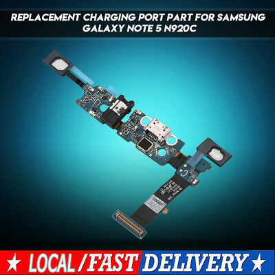USB Charging Port Dock Flex Cable Replacement For Samsung Galaxy Note 5 N920C AU