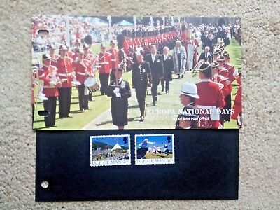 e.........GB...ISLE OF MAN Presentation Pack 1998..EUROPA- NATIONAL DAYS