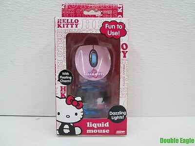 Sakar Hello Kitty Liquid Mouse Item #81409 Wired Mouse, HK in Tub Charm !