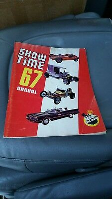 1967 Show Time Annual Michigan Hot Rod Custom Cars Auto Magazine Book