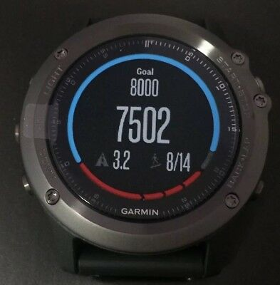 Garmin Fenix 3 HR Sapphire GPS Multi-Sport Watch, Brand New, Never used!