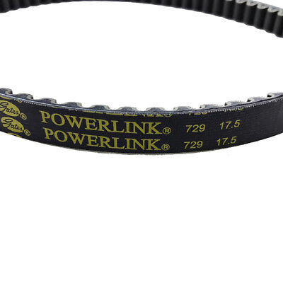 729 17.5 30 Gates Powerlink CVT drive belt for GY6 139QMB 50cc Moped Long Case
