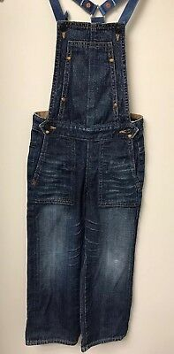 """ag Adriano Goldschmied """"the sand"""" Childrens Kids Jeans Denim OVERALLS sz 4T"""