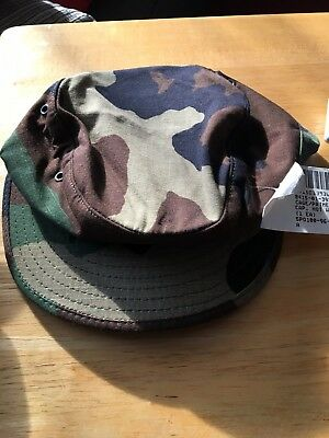 Military Cap BDU Hot Weather Camouflage Size 6 1/2