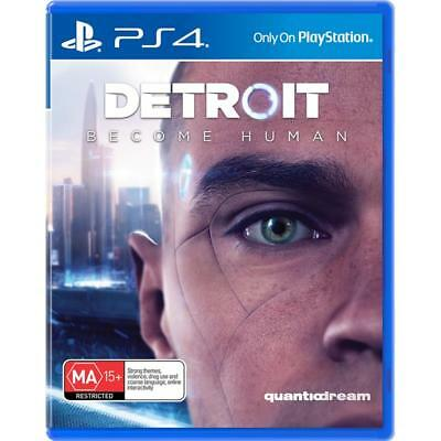 Detroit Become Human PlayStation 4 PS4 GAME BRAND NEW FREE POSTAGE
