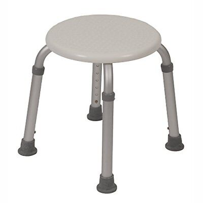 NEW PCP Round Shower Stool Mobility Bath Aid Seat, White FREE2DAYSHIP TAXFREE