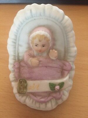 Enesco Growing Up Girls Age Baby 1983