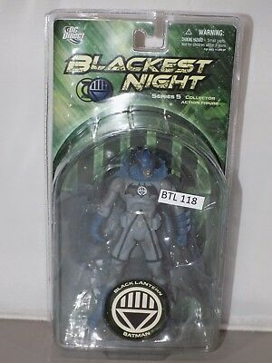 DC Direct Blackest Night Series 5 BLACK LANTERN BATMAN NIB (G38 118)