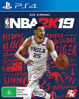 2K Sports NBA 2K19 PlayStation 4 PS4 GAME BRAND NEW FREE POSTAGE