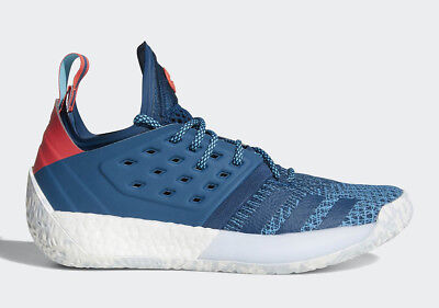 NEW Adidas James Harden Vol 2 Boost AH2216 Basketball Shoes Sneakers Size 10.5