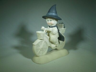 Department 56 Snowbabies Wizard Of Oz Wicked Witch Bike Toto Porcelain Figurine
