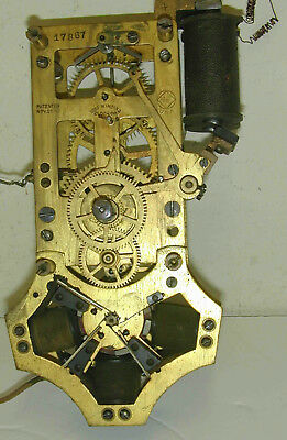 Self Winding Clock Co Rotary Movement 120 Beat
