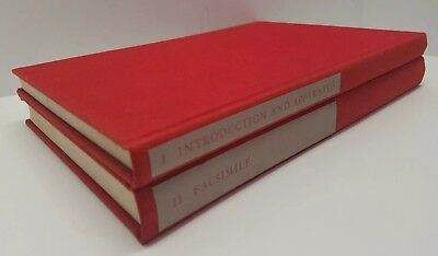Red Badge of Courage Facsimile Manuscript Ed Stephen Crane HC Book Set Vol 1 & 2